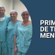 primeira cirurgia de transplante meniscal de sc